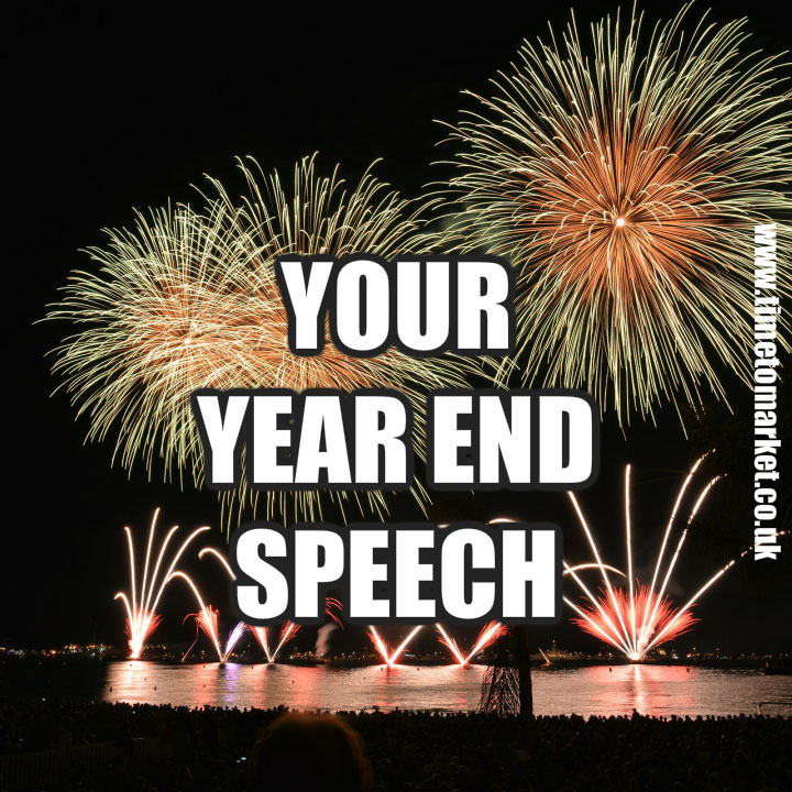 Year end speech