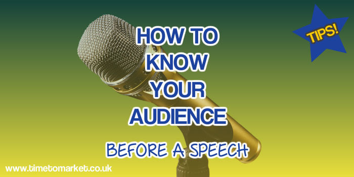 Tips for Public speaking: How to know your audience