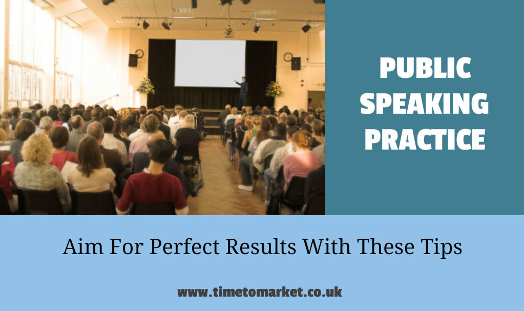 Tip: Public speaking practice