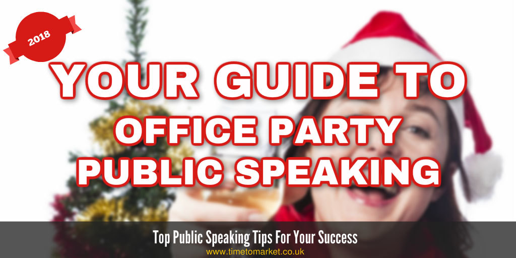 guide to office party public speaking