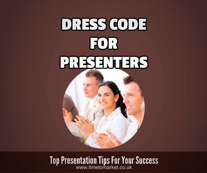 Dress code for presenters