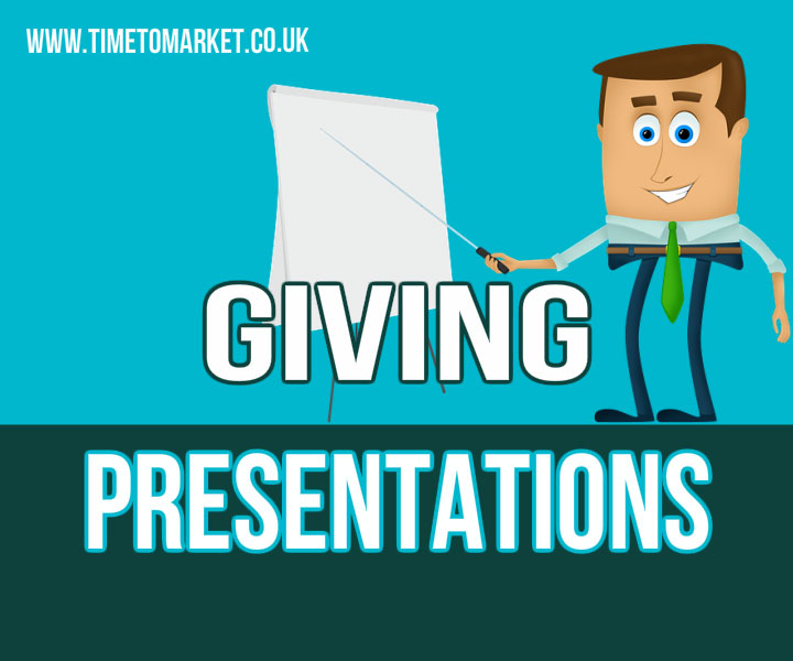 Giving presentations confidently