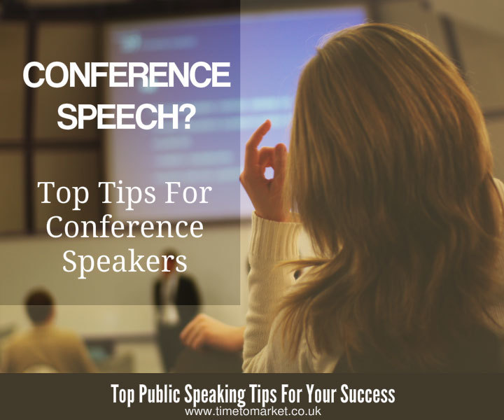 Giving your conference speech