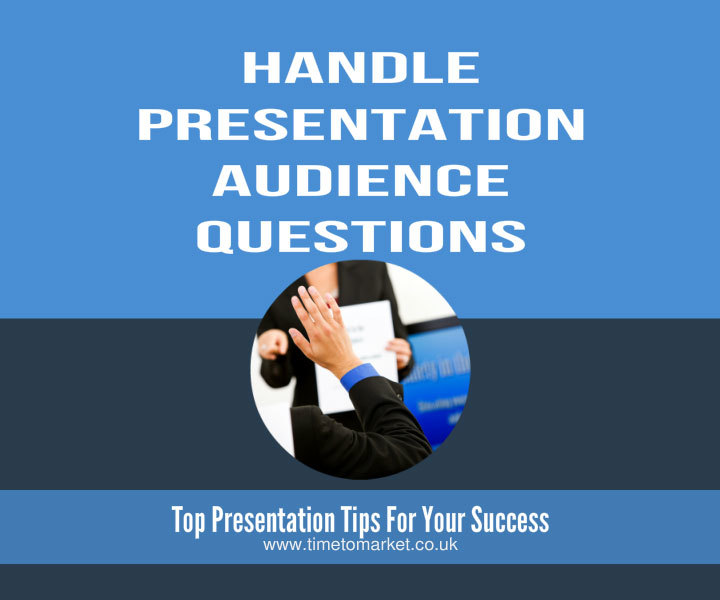 handle presentation audience questions