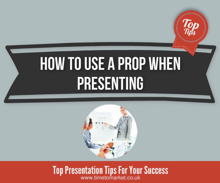How to use a prop when presenting