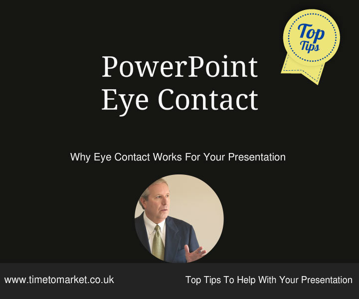PowerPoint eye contact