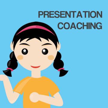 Presentation skill coaching