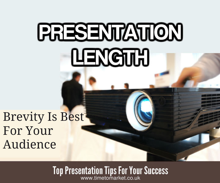 Presentation length proves brevity best