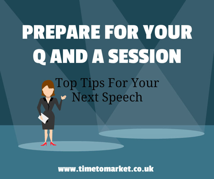 Prepare for your q and a session