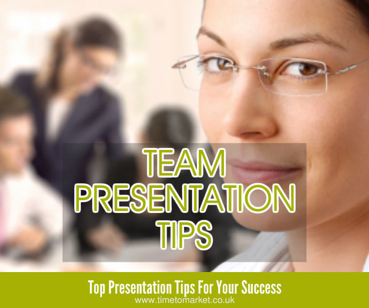 Confident presentation tips for teams