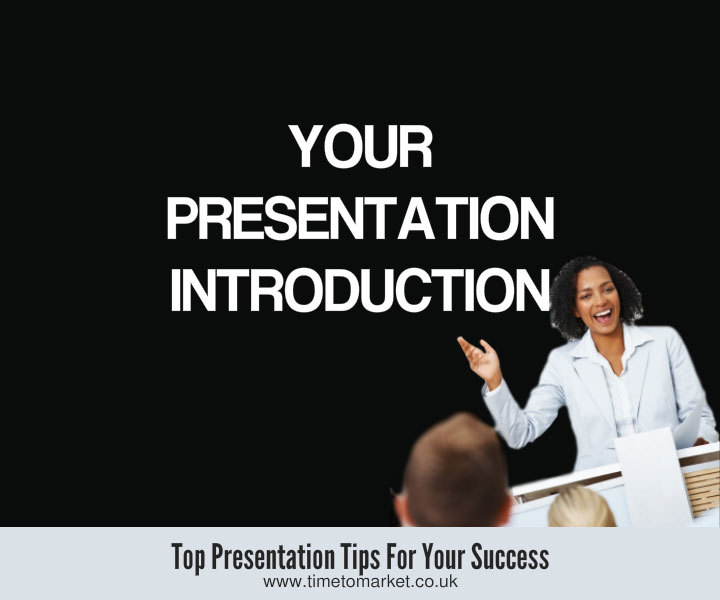 Your presentation introduction