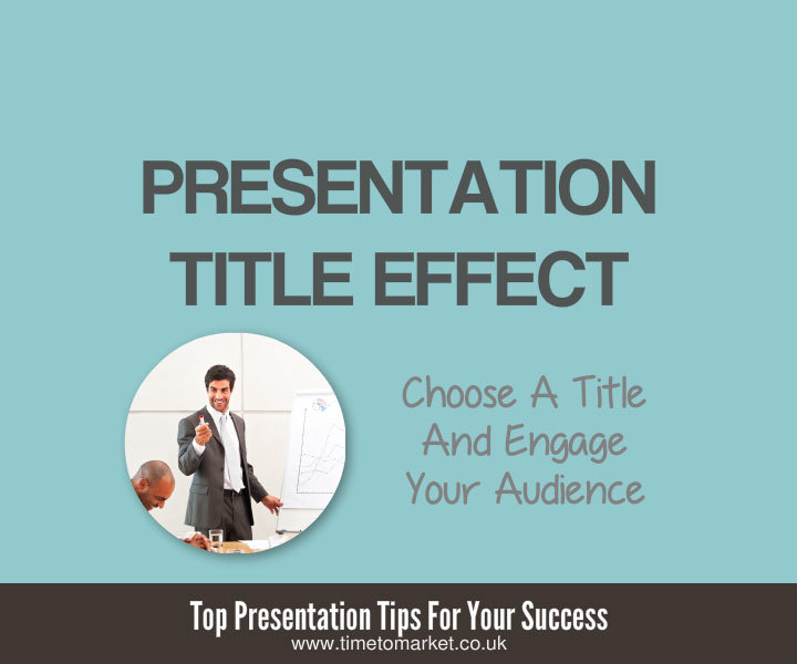 Presentation title effect