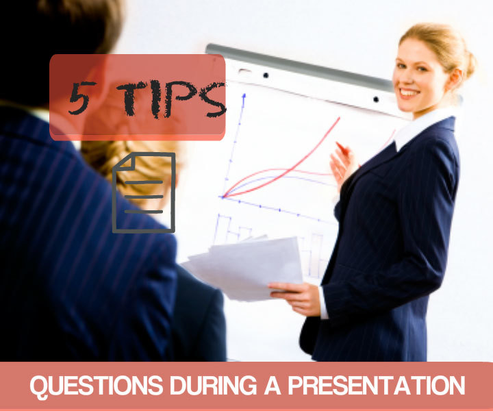 questions in a presentation