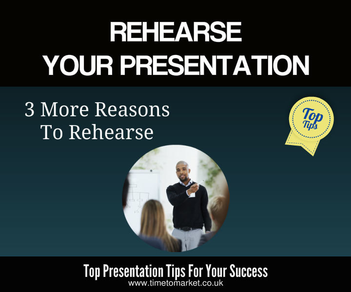 Rehearse your presentation