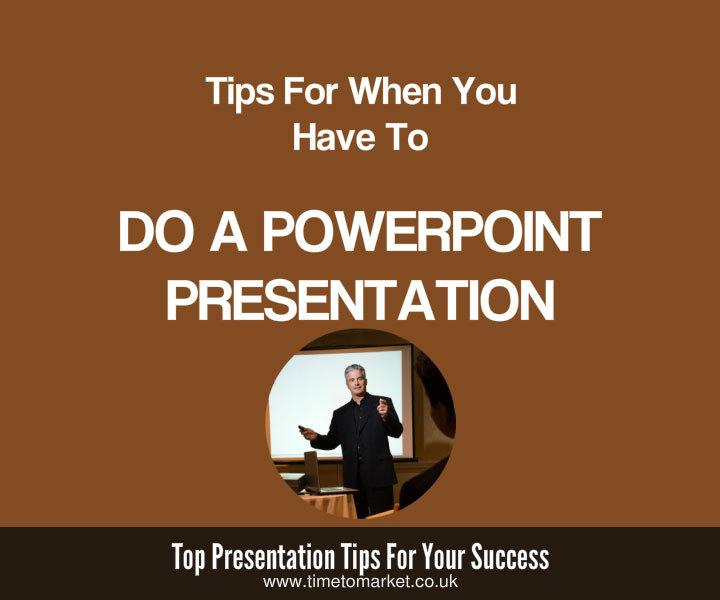 Do a PowerPoint presentation