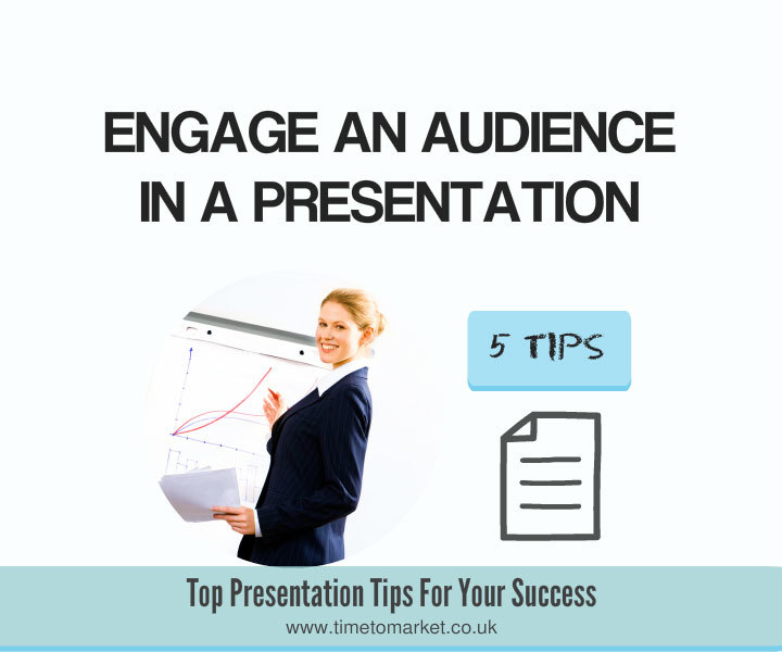 How to engage an audience
