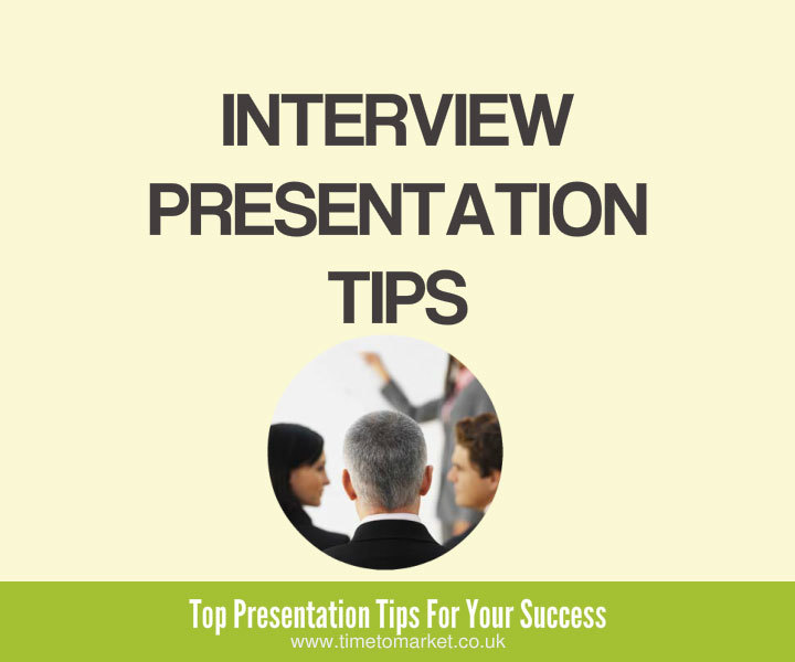 Interview presentation tips