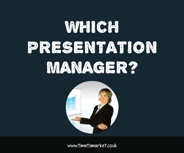 Which presentation manager