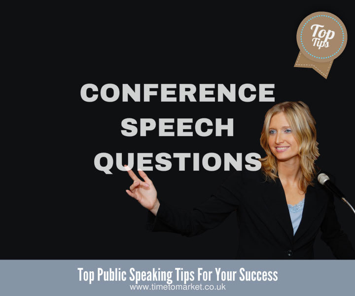 Conference speech questions