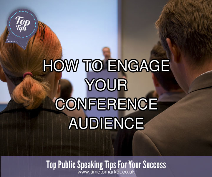 Engage your conference speech audience