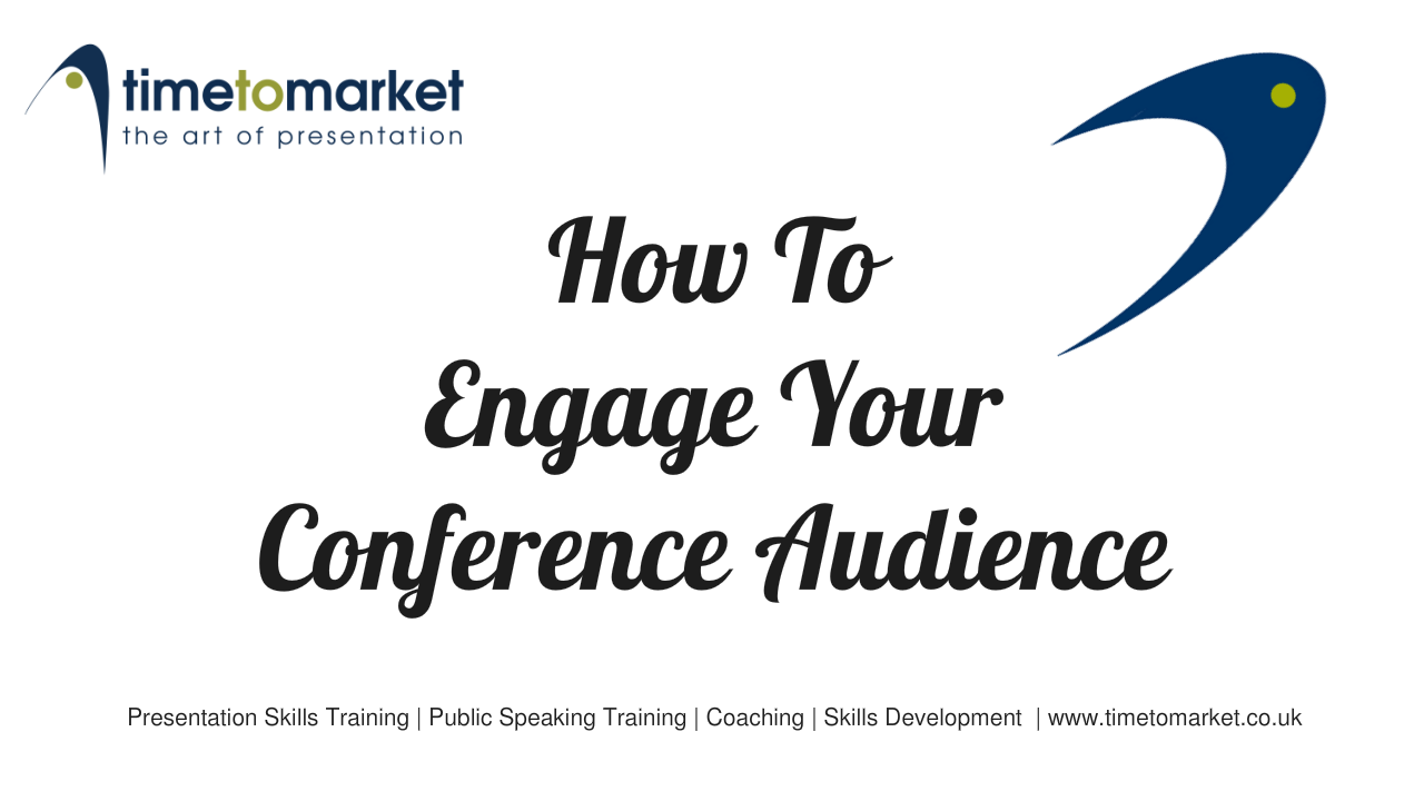 Engage your conference audience