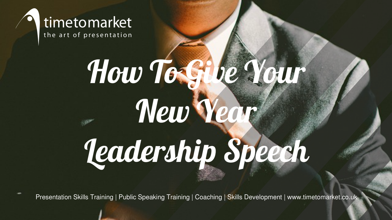 New year leadership speech