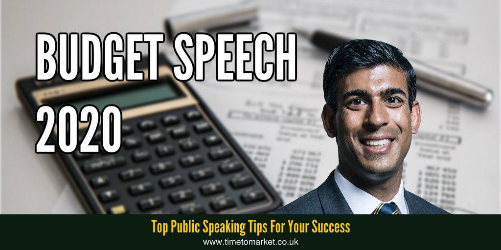 British budget speeches 2020