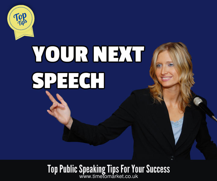 Your next speech